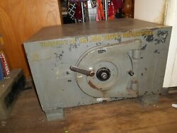 Mosley Floor Safe 1310 Lbs. 32 X 34 X 26 2 Thick Walls