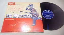 Mr. Broadway Mickey Rooney 1957 Lp Memento Not For Sale