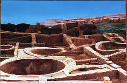 Janet Collins Limited Edition Giclee Print New Mexico Chaco 1 Of 50 Desert Park