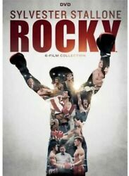 Rocky 6-film Collection 40th Anniversary [new Dvd] Anniversary Ed Boxed Set