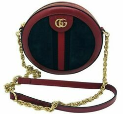 Womens Designer Gucci Ophidia mini round shoulder bag $915.95