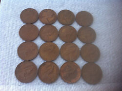 2 New Pence Coins 1971-1981 16 Coins Total