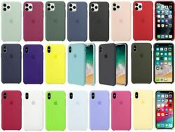 2020 New Case For Apple iPhone 11 Pro XR XS Max 7 8 Plus Luquid Silicone Cover