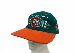 Miami Dolphins Nfl Unisex Adult Cap Hat Logo Athletic Green One Size Vintage New