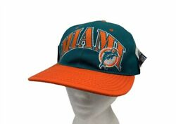 Vintage Miami Dolphins Unisex Adult Starter Snapback Cap Hat Embroidered New