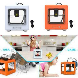 Portable Mini Fdm 3d Printer Diy Kits One Key Printing For Kids Christmas Gifts