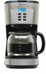 Capresso 12-cup Programmable Coffee Maker Stainless Steel