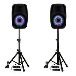 Acoustic Audio Bbq151 Powered 15 Bluetooth True Wireless Stereo Tws Led