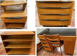 Vintage Mid-century Modern 5 Piece Furniture Set Greater Los Angeles, Ca Only