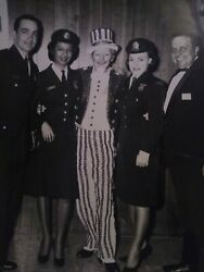 African American Female Photo With Uncle Sam Of The Philadelphia Police Dept