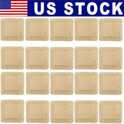 20pcs Sterile Silicone Wound Dressing Pads w Adhesive Border Waterproof 4x4#x27;#x27;