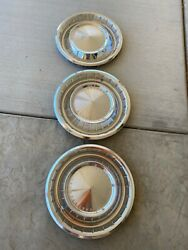 1963lincoln Nos Hubcaps
