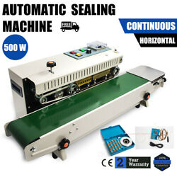 Automatic Horizontal And Vertical Continuous Plastic Bag Sealing Machine Sealer