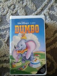 Dumbo, The Fox And The Hound And More Vhs Disney Black Diamond Edition