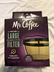 Goldtone Reusable 4 Cup Basket Coffee Filter For Mr. Coffee Makers And Brewers