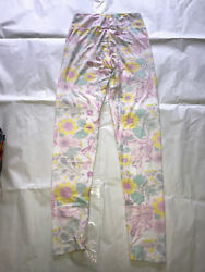 Lularoe Leggings One Size OS Brand New Pastel Flowers Easter Bunny-feel Cute $6.99