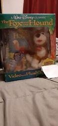 A Walt Disney Classic The Fox And The Hound Limited Edition Vhs In The Box Never