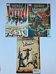 War Of The Realms Journey Into Mystery Lot Of 3 Books 4,5,uncanny X-men 1