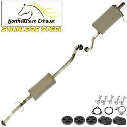 Stainless Steel Exhaust System Kit With Hangers And Bolts Fits 2007-09 Honda Crv