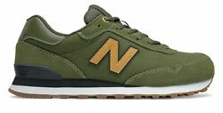 New Balance 515 Classic Mens Shoes Olive with Gum $55.99