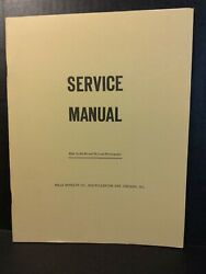Mills Do-re-mi And Deluxe Jukebox Service Manual Amr Book Do-re-me De Luxe
