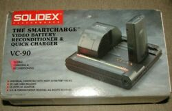 New Solidex - Smartcharge Video Battery Reconditioner And Quick Charger - Vc-90