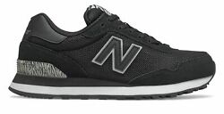 New Balance 515 Classic Womens Shoes Black with Black $55.99