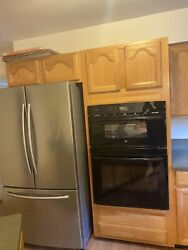Ge Profile 30 Black Double Combination Wall Oven
