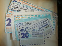 Bed Bath And Beyond Coupons 30 20 Off Total Purchase. Coupons No Expiration