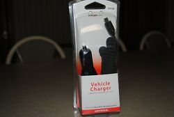 Nib Verizon Mini-usb Port Car Vehicle Charger For Cell Phones New In Package