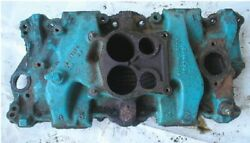 1974 Carver 25and039 Boat Omc 225 Gm 307 5.0l 4bbl Intake Manifold