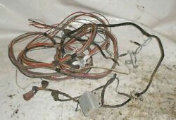 1978 Galaxy 18and039 Boat W 120 Omc Complete Engine Wiring Harness W Trim Solenoids