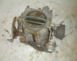 1981 Galaxy 19and039 Boat W Omc 5.7l 350 Gm 2 Bbl Carburetor Rochester