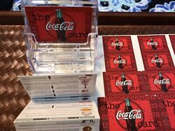 Rare Proofs Cocacola Proof Sheet Key Chains Discount Cards Release 98 Must Read