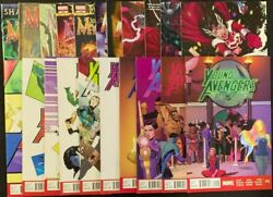 Marvel Journey Into Mystery Vol.1 635-655 Young Avngs Vol.2 1-15 Lot Of 21 Fs