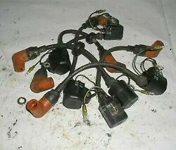 1996 200 Hp Yamaha Saltwater Series Ii Outboard Set Of Coils And Wires