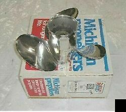New Old Stock Michigan Wheel Stainless Volvo Left Long Hub 15 X 17 Boat Prop