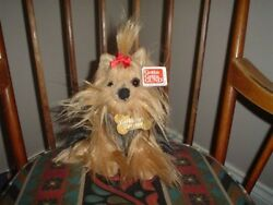 Gund Yorkshire Terrier Dog Plush 9 Inch 13073 All Tags 2001