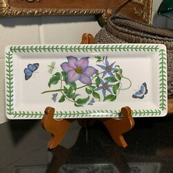 Portmeirion 11 3/4 Sandwich Serving Platter Or Tray England Pristine - 2 Avail.