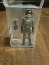 Vintage Kenner Star Wars 1977 Death Squad Commander Afa 70 Dark Blue Emblem