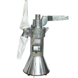35kg/h Automatic Continuous Hammer Mill Herb Grinder Pulverizer