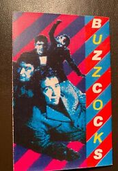 Buzzcocks Cassette - Absolutely Rare - Seeking A Record Deal 1 Of A Kind