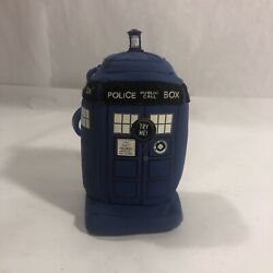 Dr Who Tardis Plush Doctor Keychain Lightup Police Box Blue Public Call