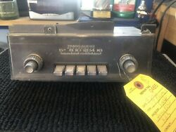 1967 Plymouth Fury Am Push Button Radio With Knobs