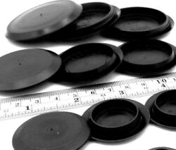 Hole Plugs Caps Push In 1/4 To 4 Holes For 1/16 Thick Sheet Metal Materials