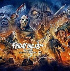 Friday the 13th Collection Deluxe Edition New Blu ray Boxed Set Deluxe Ed $129.99