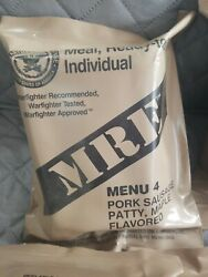 Lot Of 8 Mre Ready To Eat Military Surplus Meals