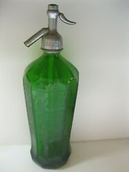 1930 Green Glass Rotella's Beverage Int Exposition Grand Prize Bottle Newark Nj