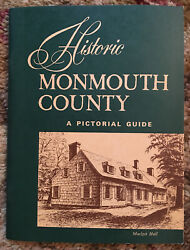 Vintage New Jersey Guide Book Andldquohistoric Monmouth Countyandrdquo A Pictorial Guide 1964