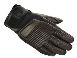 Spidi Clubber Ce Brown Retro Classic Urban Leather Motorcycle Motorbike Gloves